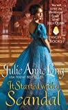 It Started with a Scandal: Pennyroyal Green Series	 by  Julie Anne Long in stock, buy online here
