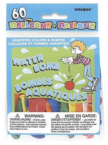 unique-party-5158-palloncini-assortiti-per-acqua-in-lattice-confezione-da-60