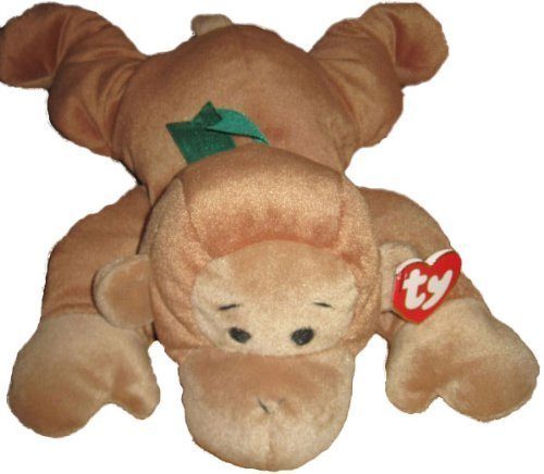 TY Pillow Pal - SWINGER the Monkey (Brown Version) - 1
