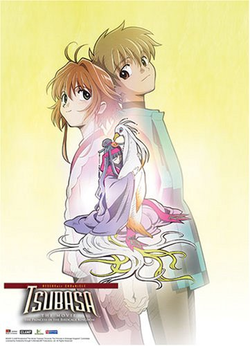 Sakura and Syaoran Tsubasa Movie Wall Scroll