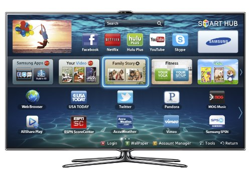 Samsung UN46ES7500 46-Inch 1080p 240Hz 3D Slim LED HDTV (Charcoal Grey)