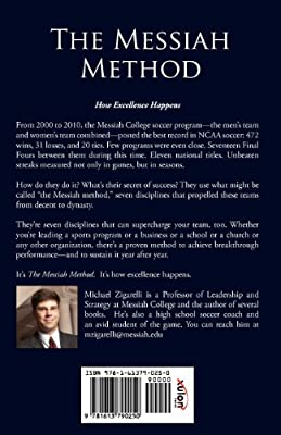 The Messiah Method: The Seven Disciplines of the Winningest College Soccer Program in America