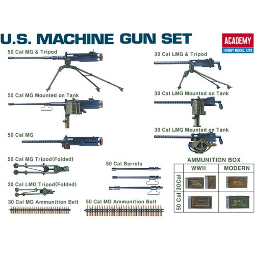 Academy U.S. Machine Gun Set - 1