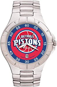 Detroit Pistons Mens Pro II Watch by Logo Art