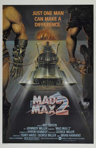 "Mad Max 2: The Road Warrior 27,94 43,18 cm x (11""), 28 x 17 x 44 cm, motivo: Film Poster"