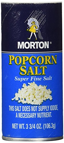 Morton Popcorn Super Fine Salt 3.75-oz 3 Pack (Salt Popcorn compare prices)