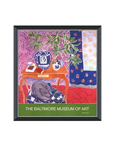 Art Source Henri Matisse Interior With Dog 2005, Multi, 23.75 x 26