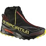 スポルティバ La Sportiva Crossover 2.0 GTX Trail Running Shoe - Men's Black Yellow アウトドア メンズ 男性用 靴 ランニングシューズ Running Shoes 並行輸入