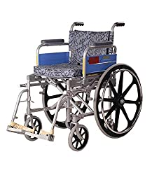 Vissco Invalid Wheel Chair - Deluxe / Folding / Mag Wheels