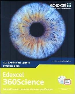 Edexcel 360 science coursework