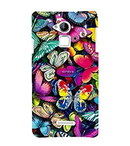 Vizagbeats Butterflies Back Case Cover for Coolpad Note 3 Lite