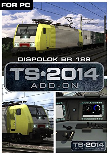 Train Simulator 2014 - Dispolok BR 189 Loco Add-On Online Code (PC)