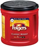 Folgers Classic Roast Coffee, 33.9 oz., 6 Count