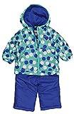 Osh Kosh B'gosh Infant Girls Polka Dot 2pc Snow Suit (24M, Blue)
