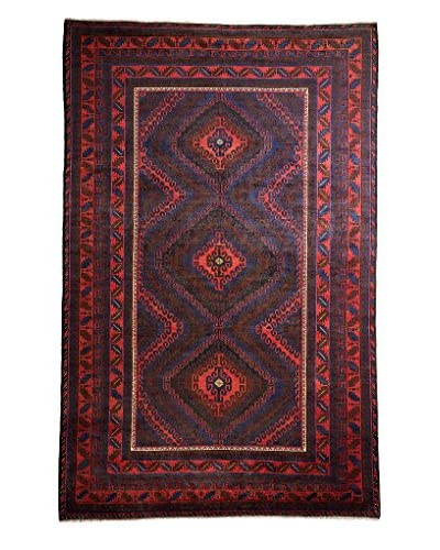 Tribal Collection Oriental Rug, Red, 7' 6 x 11' 10
