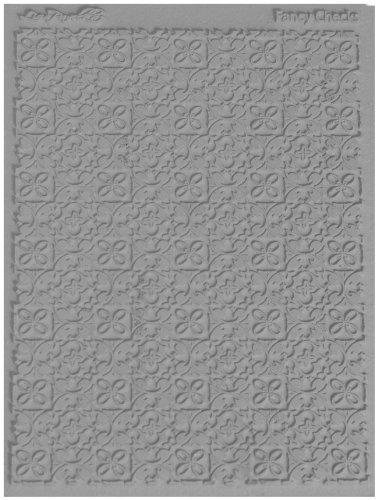 Lisa Pavelka 527100 Texture Stamp Fancy Checks