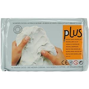 Activa Plus Natural Self Hardening Clay, 2.2-Pound, White