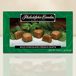 Philadelphia Candies Milk Chocolate French Mints Truffles (28-count, Gift Box)