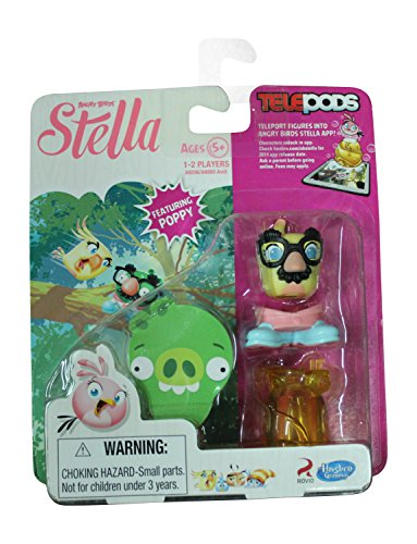 "Angry Birds Stella Telepods Featuring ""Poppy"" Figure"