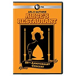 Arlo Guthrie: Alices Restaurant 50th Anniversary Concert  DVD