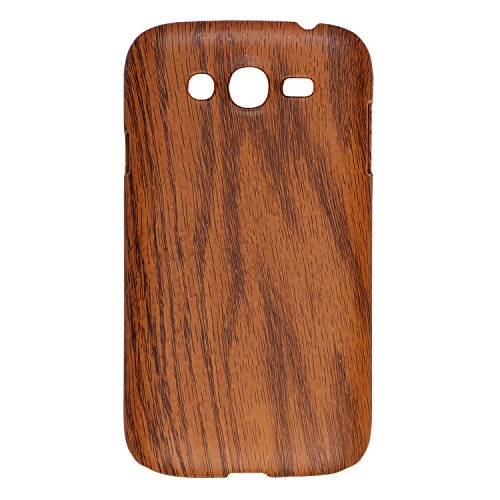 iCandy™ Plastic Hard Back Cover For Samsung Galaxy Grand S9082 / Grand Neo S 9060 - Dark Wooden  available at amazon for Rs.139
