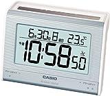 CASIO (カシオ) 置き時計 WAVE CEPTOR ウェーブセプター ソーラー 電波時計 温度表示 DQS-300J-2JF