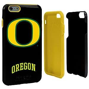 NCAA Oregon Ducks Hybrid Case for iPhone 6 Plus, Black