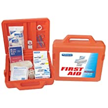 PhysiciansCare Weatherproof First Aid Kit for up to 50 People, Contains 179 Pieces