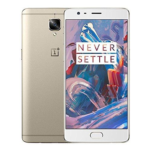 "Oneplus 3 6+64GB Dual SIM 4G LTE 5.5"" Smartphone Oro Oxygen OS"