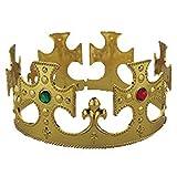 Jacobson Hats Men's Gold King Halloween Costume Crown