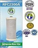 1 Pack - OnePurify Water Filter to Replace Brita, Frigidaire, Electrolux, Pure Source Plus, Kenmore, Sears, FRRF-100, WFB, WF1CB, WFCB, WFCB12, WFCB18, WFCB20, SWFB, SWF1CB, SWFCB, WF284, 218710901, 218710902, 218717805, 218732306, 218904501, 218904602, 218907800, 240389101, 240389102, 240394501, 5303917752, 5303917836, 5303917937, 5303918017, NGRG-100, NGRG-2000, RC101, RC200, RF200, RF10, RF100, RG100, 46-9010, 46-9906, 9910P, 9908P, 046991000, 0469906000.