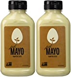 Hampton Creek Just Mayo Vegan Eggless Soy-Free Kosher Mayonnaise 2 Pack (12 oz)