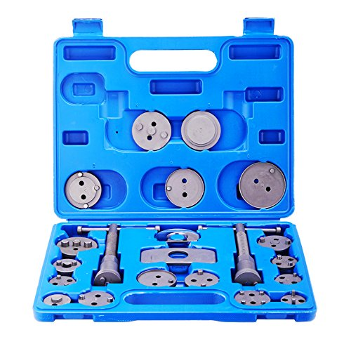 Orion Motor Tech 21pc Professional Disc Brake Caliper Wind Back Tool Kit (Rear Disc Brake Caliper Tool compare prices)