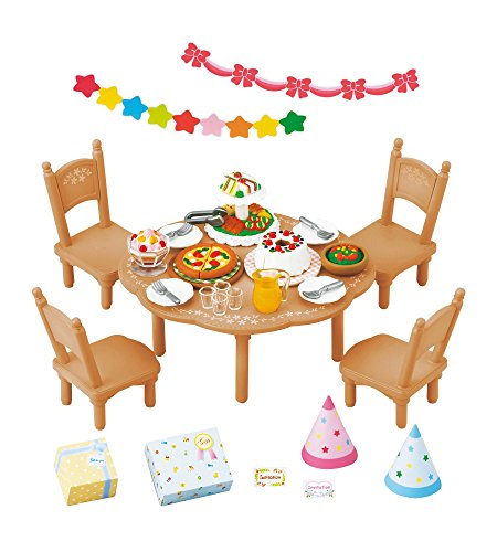 Epoch Sylvanian Families Sylvanian Family Home party set KA-612 - 1