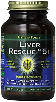 Healthforce Liver Rescue 5+, 120 Count