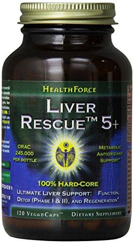 Healthforce Liver Rescue 5.1+, 120 Count