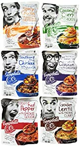 Campbell's Go Soups 6-Flavor Variety Pack, 14 Ounce