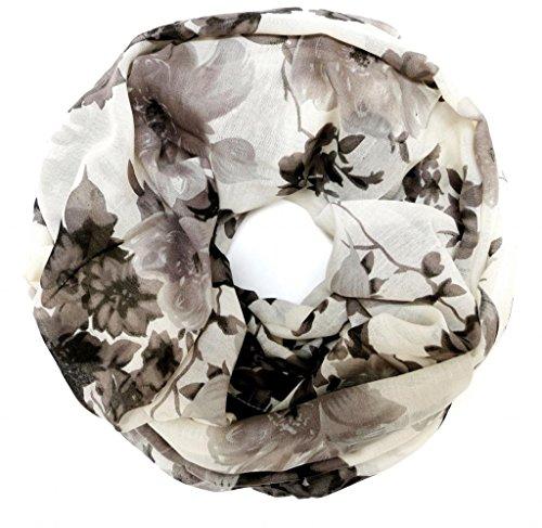 accessu-Echarpe-Foulard-pour-Femme-Floral-Color-Gradient-Print-greywhite