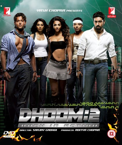 Dhoom 2 Back In Action Bollywood DVD With English Subtitles (Dhoom 2 compare prices)