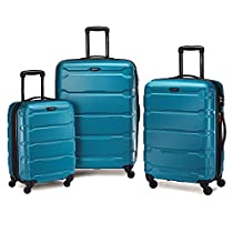 Samsonite Omni PC 3 Piece Set Spinner 20 24 28, Caribbean Blue, One Size