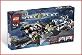 51eoPOFv75L. SL160  Lego Space Police Hyperspeed Pursuit Style# 5973