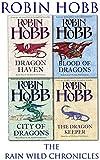 Robin Hobb Robin Hobb The Rain Wild Chronicles Trilogy Collection 4 Books Set Pack NEW
