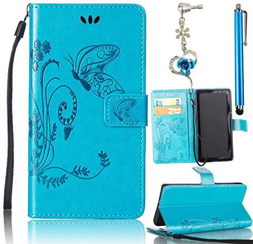 sunroyal-r-bookstyle-galaxy-on5-funda-mariposa-flor-azul-carcasa-pu-piel-elegante-cuero-tapa-cover-p