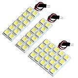 【断トツ144発!!】 AZE/GRE150系 ブレイド LED ルームランプ 3点セット [H18.12~H24.4] トヨタ 基板タイプ 圧倒的な発光数 3chip SMD LED 仕様 室内灯 カー用品 HJO