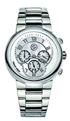 Philip Stein Men's 32-AW-SS Active Stainless Steel Bracelet Watch