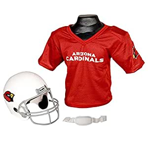 Franklin Sports NFL Arizona Cardinals Replica Youth Helmet and Jersey Set