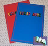 50 Scrap Books A4 Red and Blue