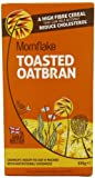 Mornflake Toasted Crunchy Oatbran 375 g (Pack of 4)
