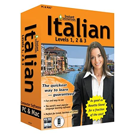 Instant Immersion: Italian, Levels 1,2 and 3