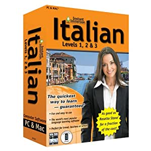 Instant Immersion Italian Levels 1, 2 & 3